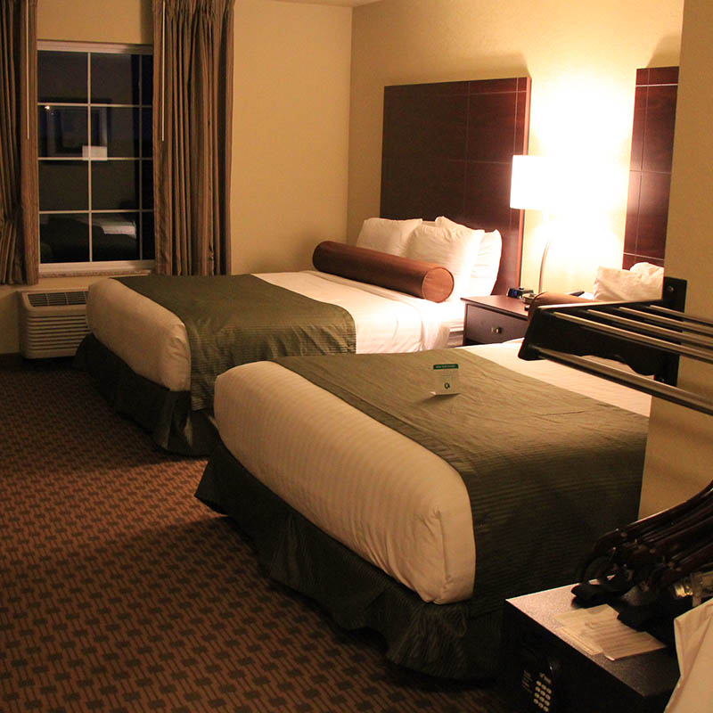 Clean rooms at Castle Rock Inn and Suites