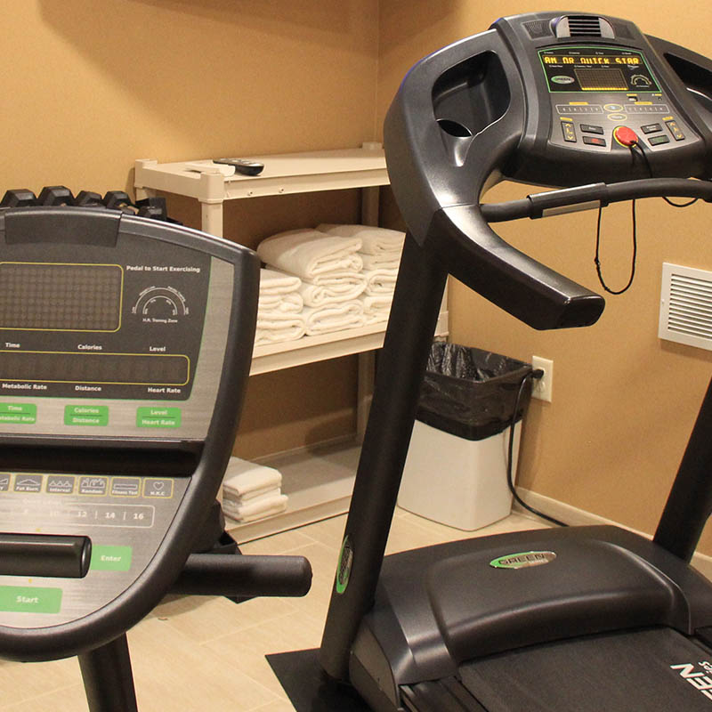 Exercise at Castle Rock Inn and Suites