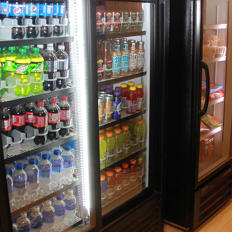 Beverage cooler at Castle Rock Inn and Suites